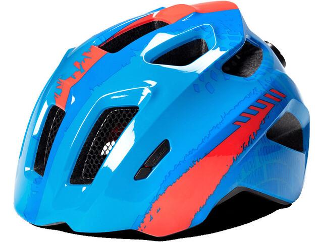Cube Fink Helmet Kinder blue